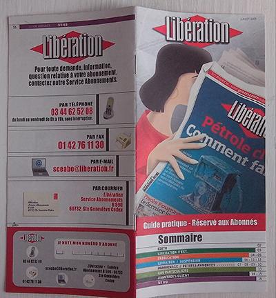 Plaquette Libération