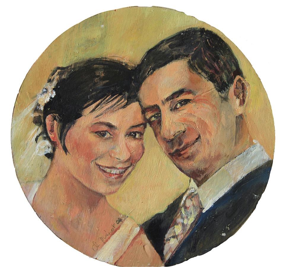 portrait mariage