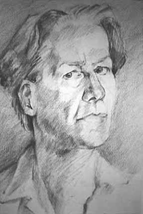 "Fusain - 650/500 - ""Portrait"""