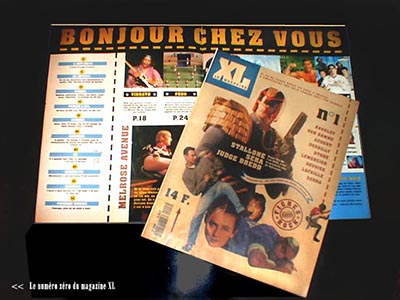 """""""XL"""", presse adolescente pour L'Equipe"""