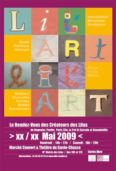 1 Communication visuelle de l'événement culturel Lil'Art