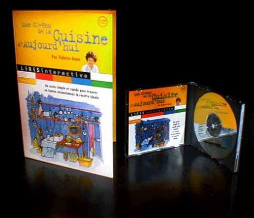 """""""La cuisine de Valérie-Anne"""" (Création CD-Rom + marketing produit)"""