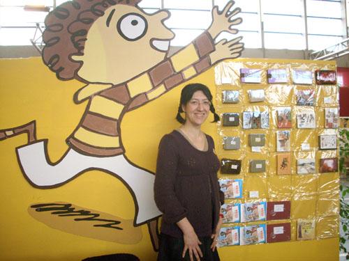 Dédicace et vente de tirages limités au Salon des illustrateurs de Valence d'Agen, février 2009