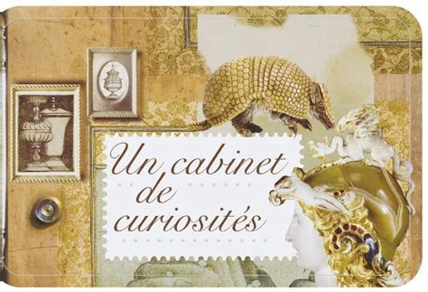 Read more about the article Carnet de timbres Cabinet de curiosités