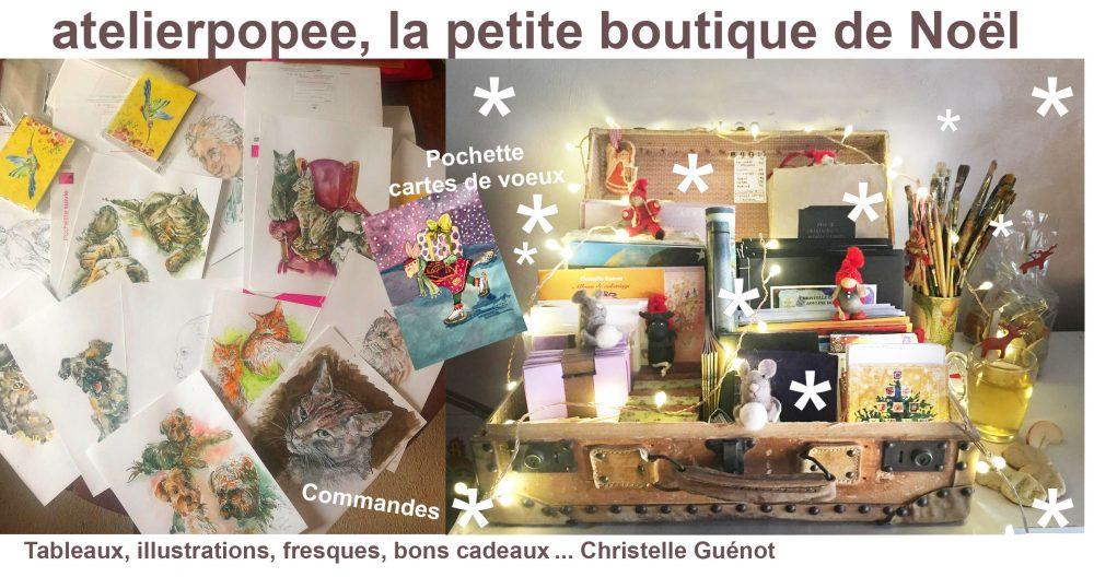 Read more about the article La boutique de Noël